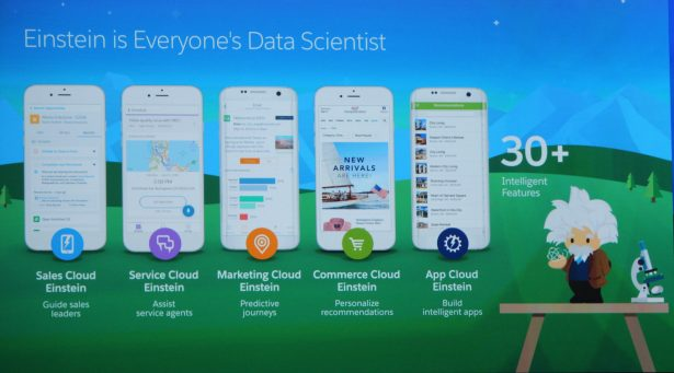 A brief overview of features Einstein will bring to the Salesforce.com cloud suite.