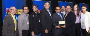 The Infinite IT Solutions team with Adeel Athar, CFO of Ingram Micro Canada