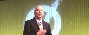 Symantec channel chief John Thompson at the 2016 Partner Engage conference