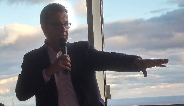 Laurent Allard, CEO of OVH Group at a Toronto kick off event