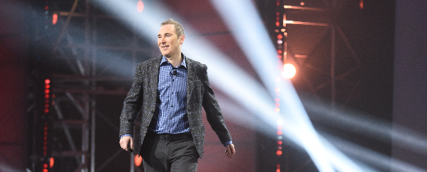 AWS CEO Andy Jassy at 2016 Re: Invent show in Las Vegas