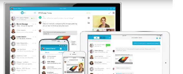 The messaging, meeting and call tools of Cisco Spark