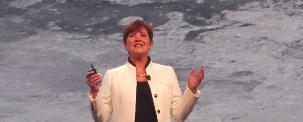 Cisco worldwide channel chief Wendy Bahr at the 2016 Cisco Partner Summit