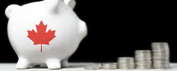 Canadian saving concept budget