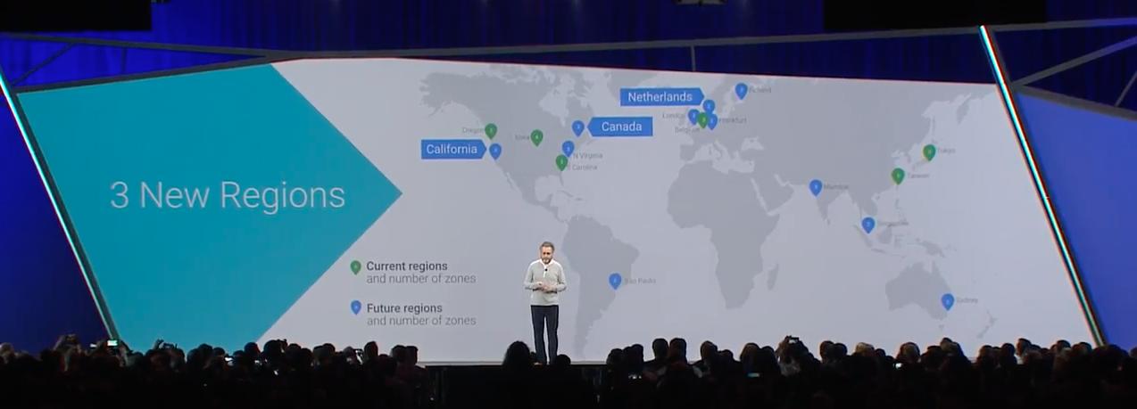 Google Cloud Platform - Canada region Montreal