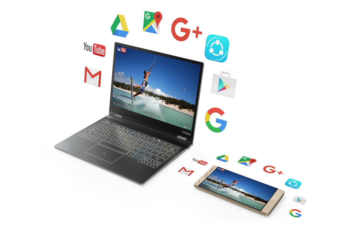 Lenovo adopts new touch feedback technology for Yoga tablets