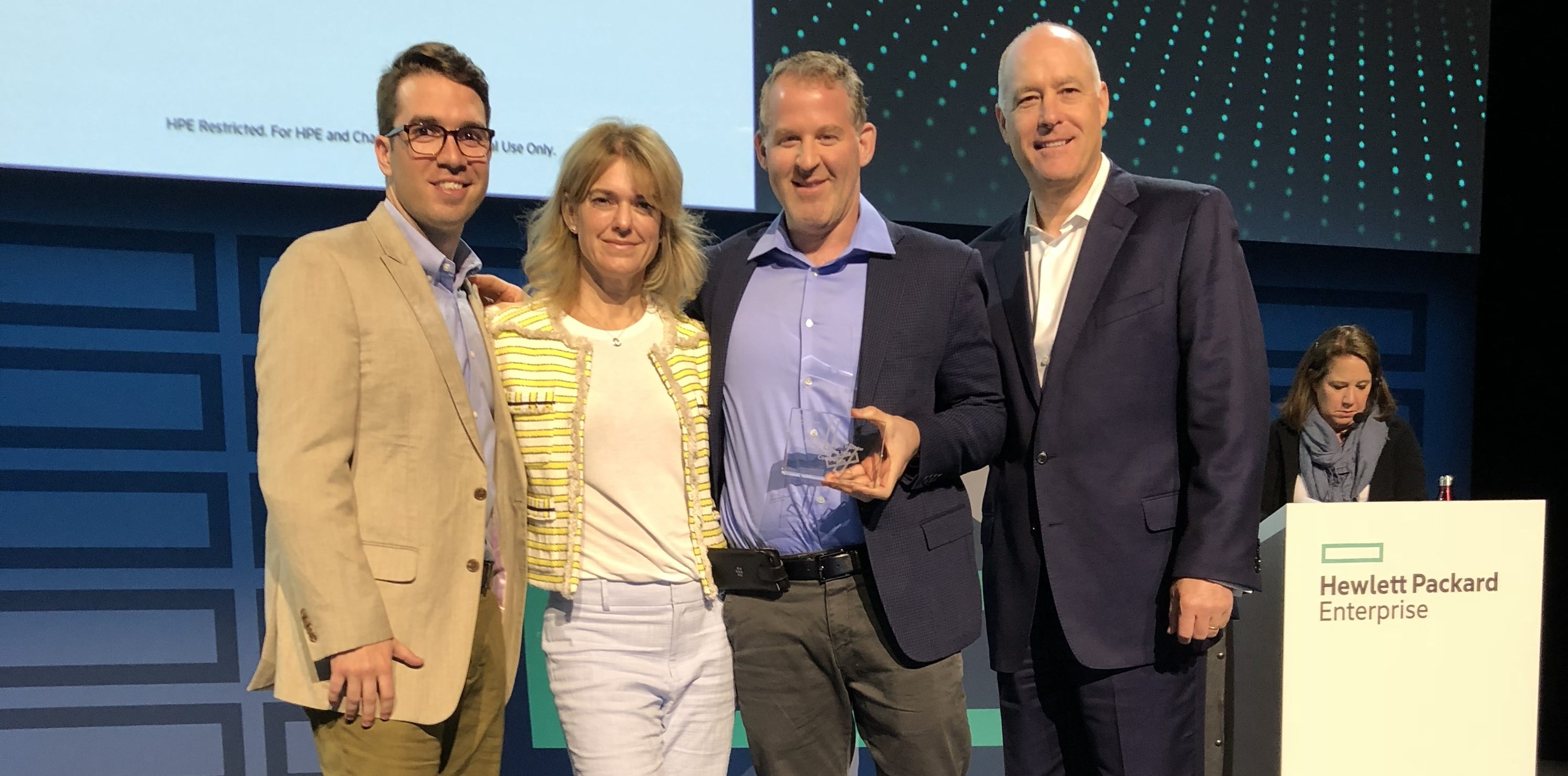 HPE Solution Provider of the Year 2018 - Compugen