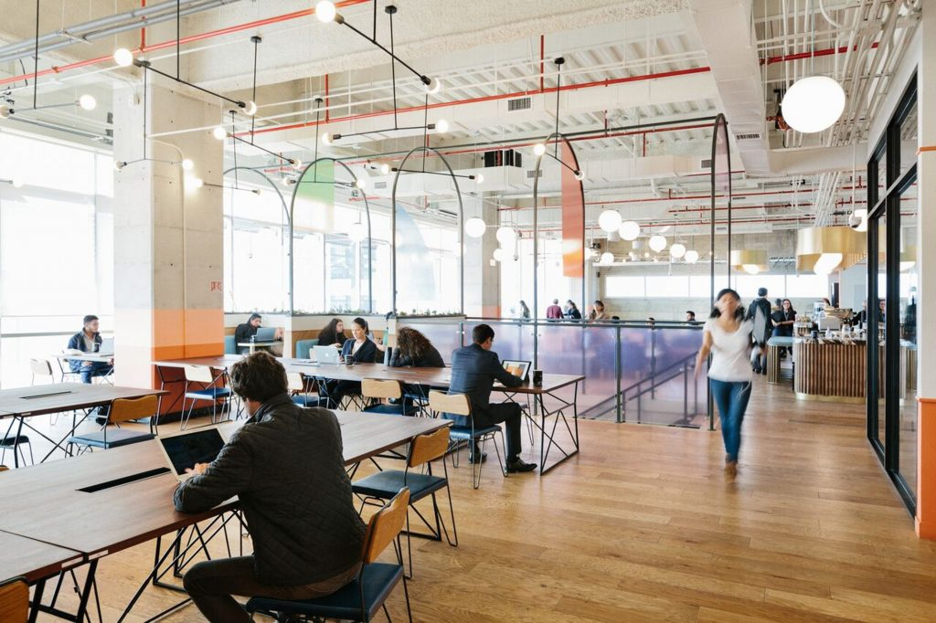 DocuSign's Canadian headquarters will be based at the WeWork Scotia Plaza. (Photo: WeWork)