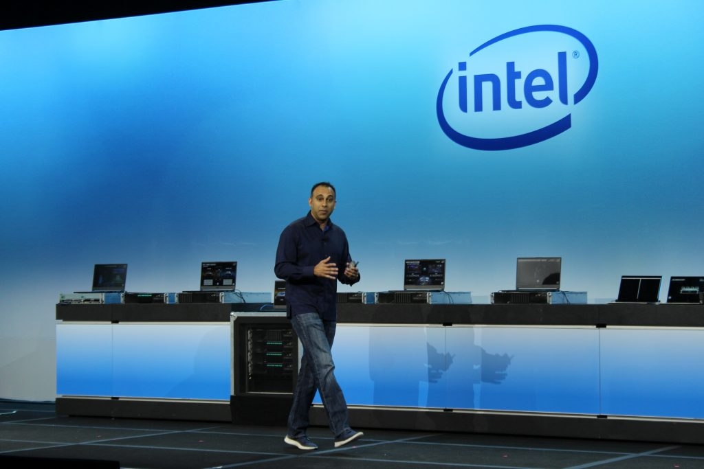 Navin Shenoy, EVP/GM data center group, Intel Corp.