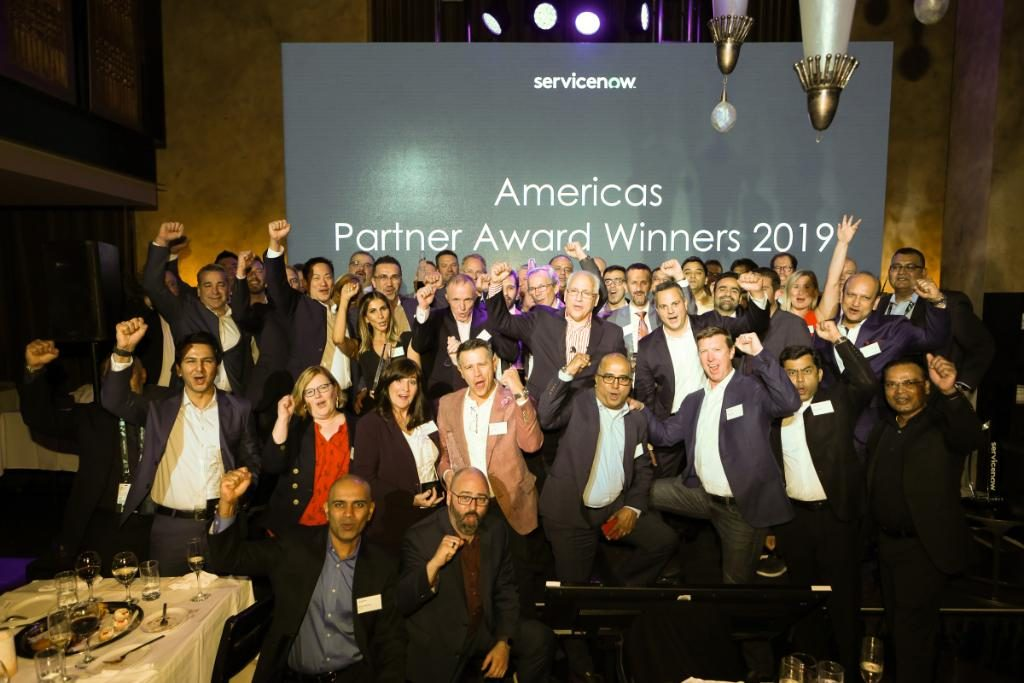 ServiceNow Partner award winners 2019